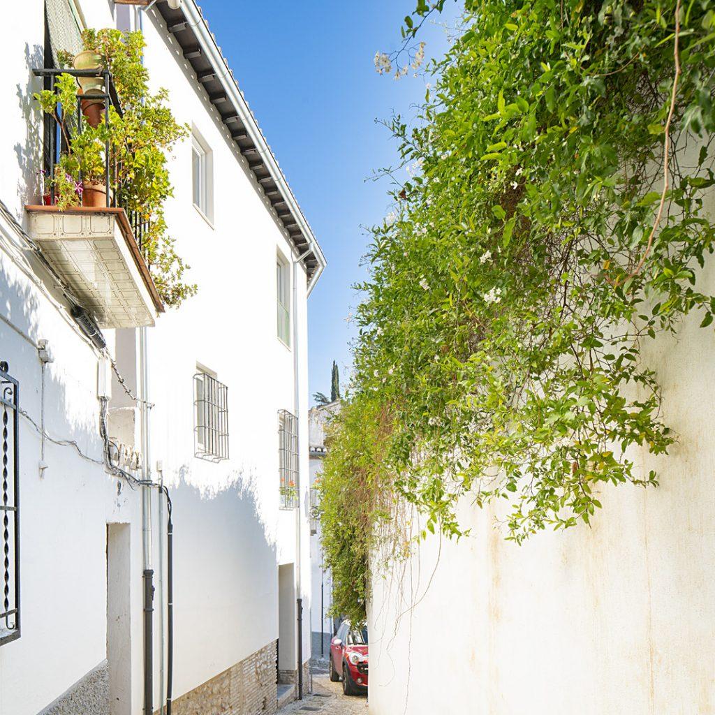 Fachada Calle Contador
